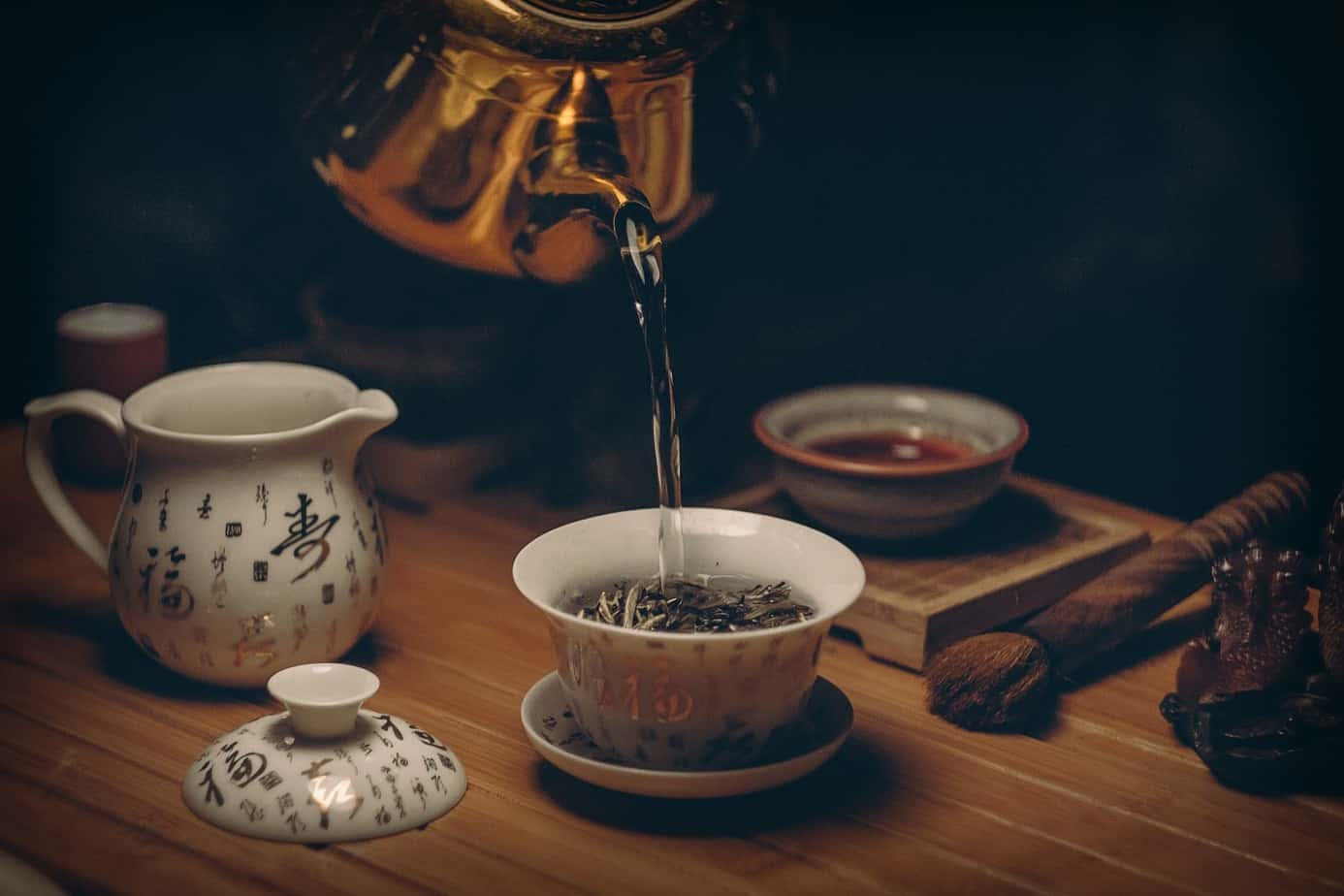 The prize that awaits: tea steeping