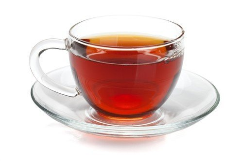 The color of Assam black tea is often a deep red.