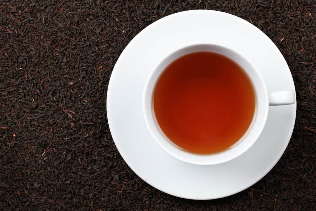 Black tea from Assam is just one of the many varieties of Indian tea.