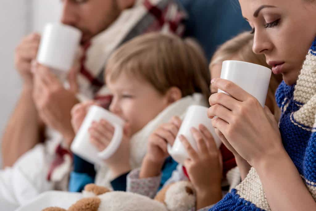 Caffeine-free tea good for families and children