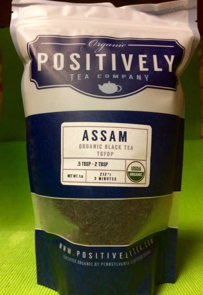 Positively Tea Co Assam black tea